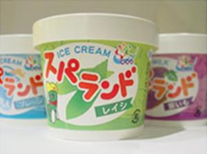 オリジナルカップアイス